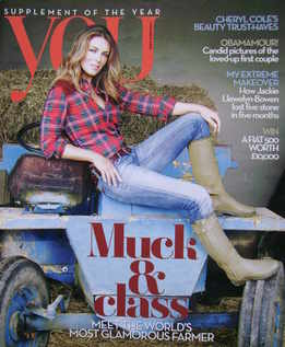 <!--2009-11-01-->You magazine - Elizabeth Hurley cover (1 November 2009)