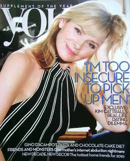 <!--2010-01-03-->You magazine - Kim Cattrall cover (3 January 2010)