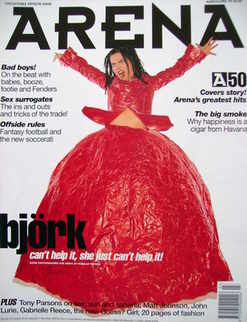 <!--1995-03-->Arena magazine - March/April 1995 - Bjork cover