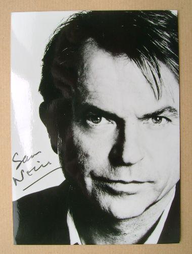 Sam Neill autograph