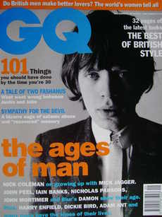 <!--1994-09-->British GQ magazine - September 1994 - Mick Jagger cover