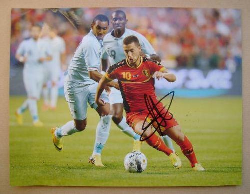 Eden Hazard autograph