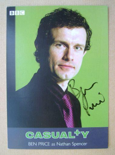 Ben Price autograph