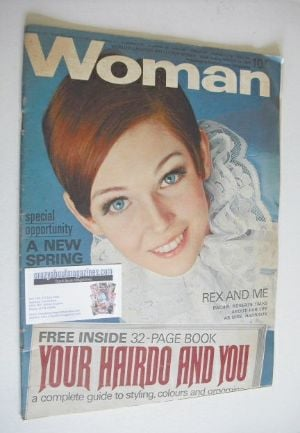 <!--1968-03-16-->Woman magazine - (16 March 1968)