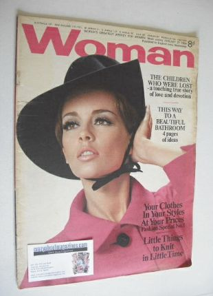 <!--1968-01-27-->Woman magazine - (27 January 1968)