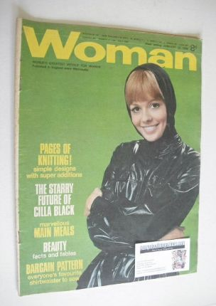 <!--1968-01-13-->Woman magazine - (13 January 1968)