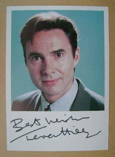 Terence Hillyer autograph (ex Coronation Street actor)