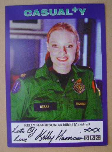 Kelly Harrison autograph