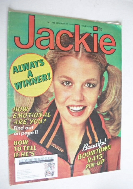 <!--1979-01-27-->Jackie magazine - 27 January 1979 (Issue 786)