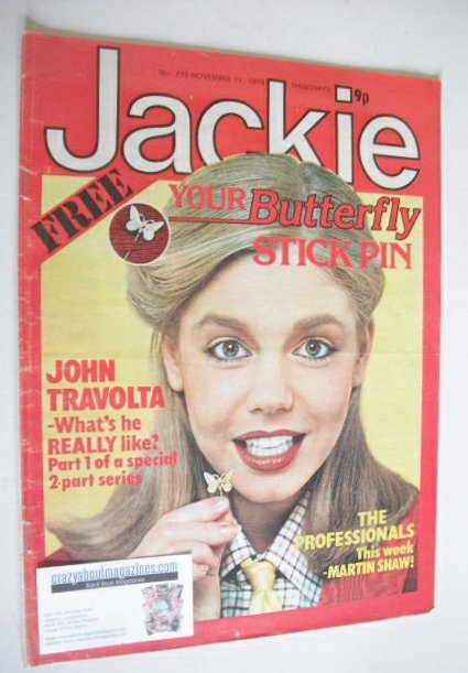 <!--1978-11-11-->Jackie magazine - 11 November 1978 (Issue 775)