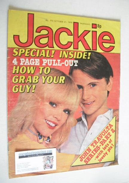 <!--1978-10-21-->Jackie magazine - 21 October 1978 (Issue 772)