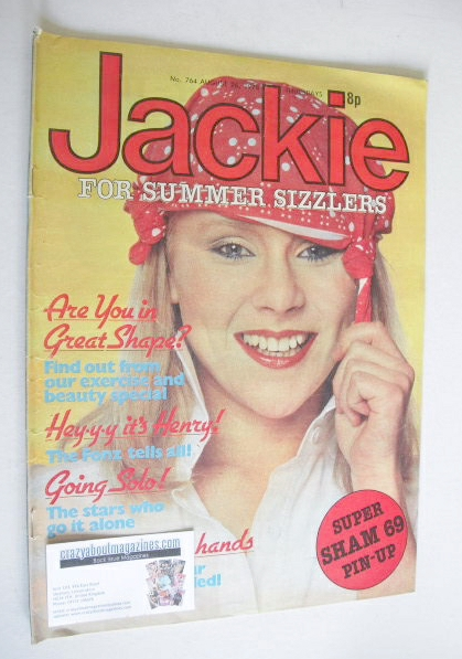 <!--1978-08-26-->Jackie magazine - 26 August 1978 (Issue 764)