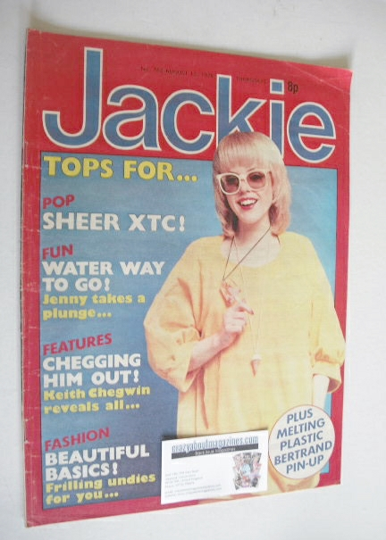<!--1978-08-12-->Jackie magazine - 12 August 1978 (Issue 762)