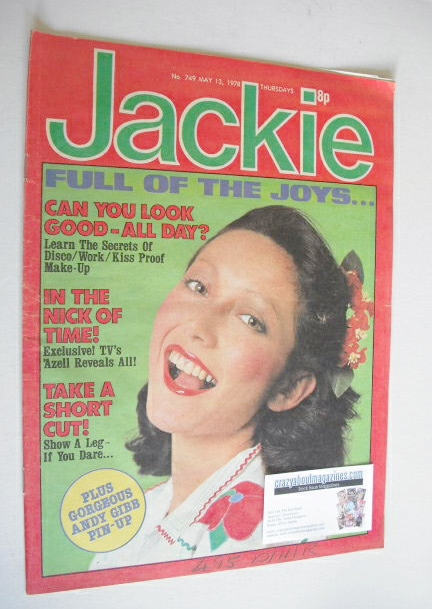<!--1978-05-13-->Jackie magazine - 13 May 1978 (Issue 749)