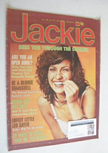 <!--1977-07-30-->Jackie magazine - 30 July 1977 (Issue 708)