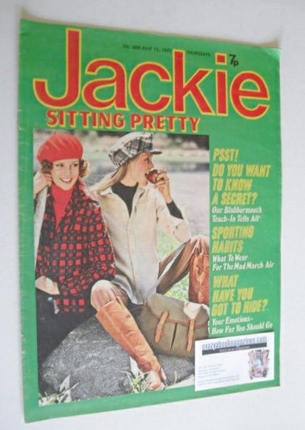 <!--1977-03-12-->Jackie magazine - 12 March 1977 (Issue 688)