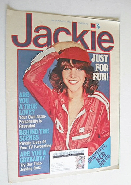 <!--1977-03-05-->Jackie magazine - 5 March 1977 (Issue 687 - Leslie Ash cov