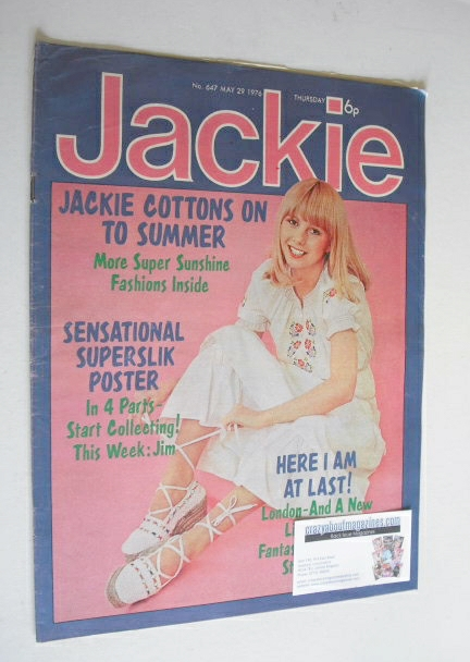 <!--1976-05-29-->Jackie magazine - 29 May 1976 (Issue 647)