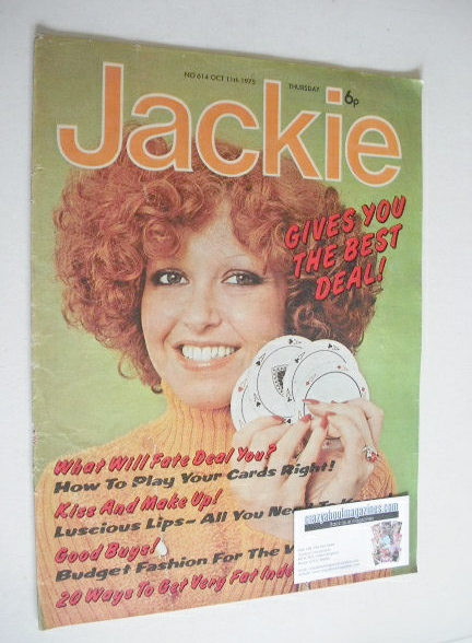 <!--1975-10-11-->Jackie magazine - 11 October 1975 (Issue 614)