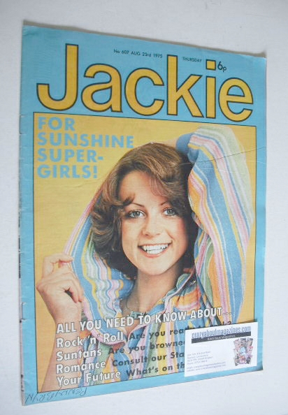 <!--1975-08-23-->Jackie magazine - 23 August 1975 (Issue 607)