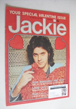 Jackie magazine - 15 February 1975 (Issue 580 - David Essex cover)