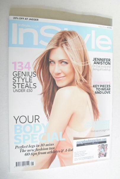 <!--2012-05-->British InStyle magazine - May 2012 - Jennifer Aniston cover
