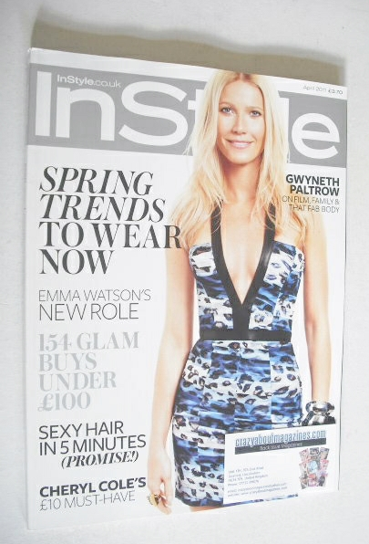 <!--2011-04-->British InStyle magazine - April 2011 - Gwyneth Paltrow cover
