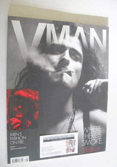 <!--2007-04-->VMAN magazine - Spring/Summer 2007 - Orlando Bloom cover
