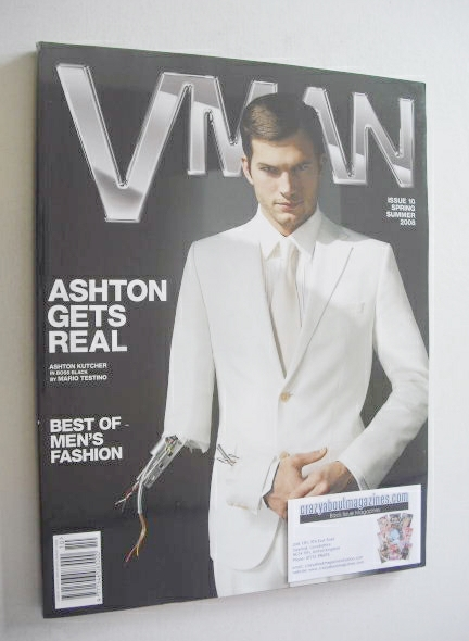 <!--2008-04-->VMAN magazine - Spring/Summer 2008 - Ashton Kutcher cover