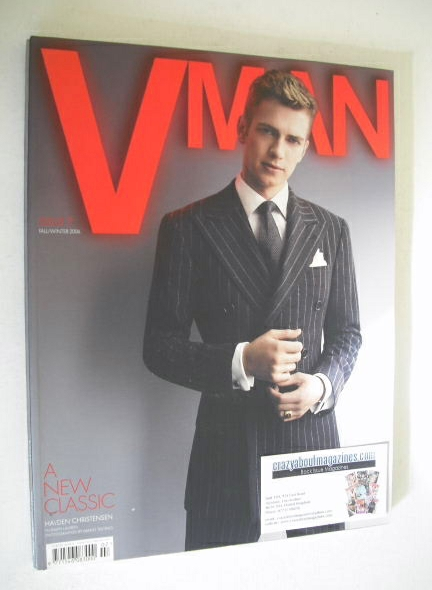 <!--2006-09-->VMAN magazine - Fall/Winter 2006 - Hayden Christensen cover