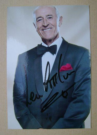 Len Goodman autographed photo