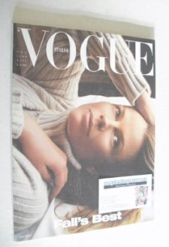 <!--1999-11-->Vogue Italia magazine - November 1999 - Lisa Taylor cover