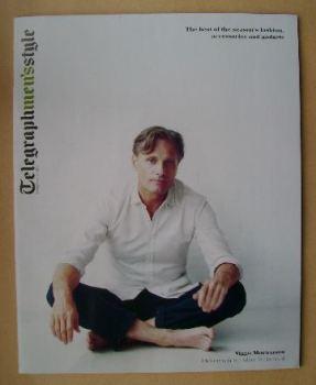 Telegraph Style magazine - Viggo Mortensen cover (Spring/Summer 2013)