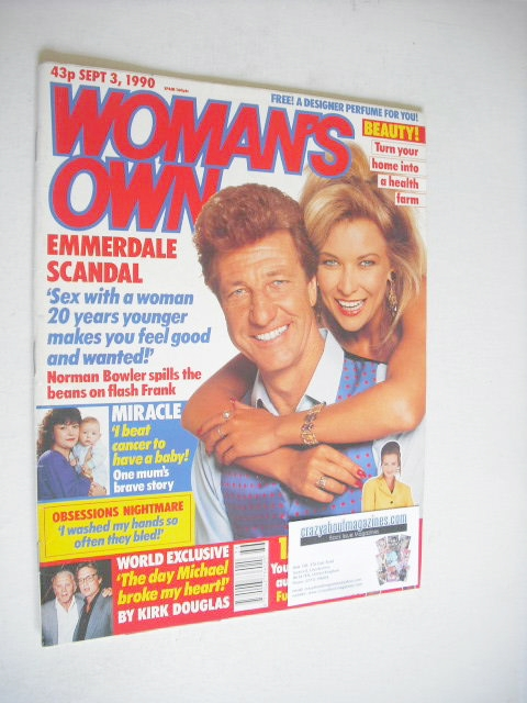 <!--1990-09-03-->Woman's Own magazine - 3 September 1990 - Claire King and