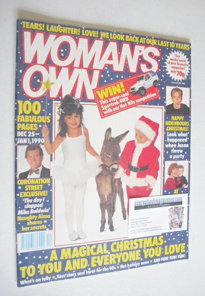 <!--1989-12-25-->Woman's Own magazine - 25 December 1989-1 January 1990