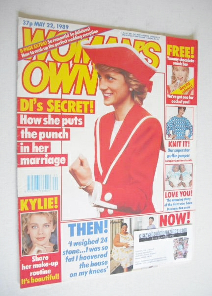 <!--1989-05-22-->Woman's Own magazine - 22 May 1989 - Princess Diana cover