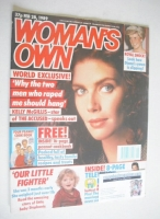 <!--1989-02-28-->Woman's Own magazine - 28 February 1989 - Kelly McGillis cover