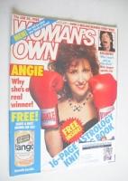 <!--1988-01-30-->Woman's Own magazine - 30 January 1988 - Anita Dobson cover