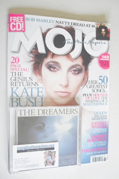 <!--2014-10-->MOJO magazine - Kate Bush cover (October 2014 - Issue 251)