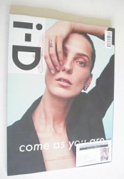 i-D magazine - Daria Werbowy cover (Spring 2014)