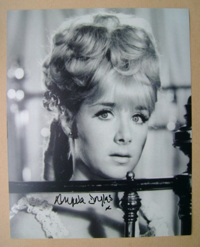 Angela Douglas autograph