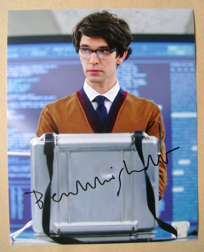 Ben Whishaw autograph