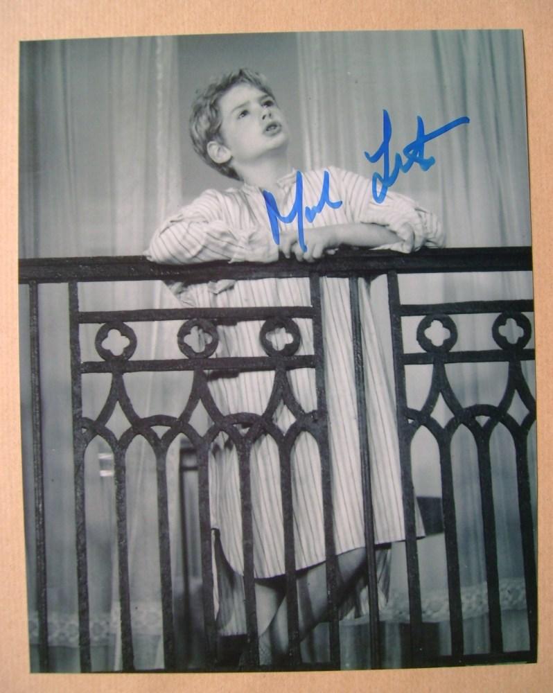 Mark Lester autograph