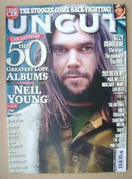 Uncut magazine - Neil Young cover (May 2010)