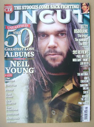 <!--2010-05-->Uncut magazine - Neil Young cover (May 2010)