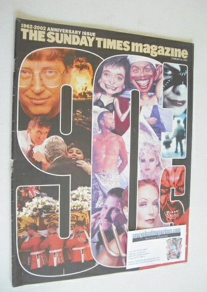 <!--2002-02-24-->The Sunday Times magazine - The Nineties Issue (24 Februar