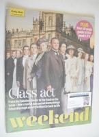 <!--2010-09-25-->Weekend magazine - Downton Abbey cover (25 September 2010)
