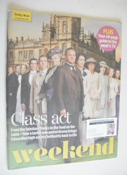Weekend magazine - Downton Abbey cover (25 September 2010)
