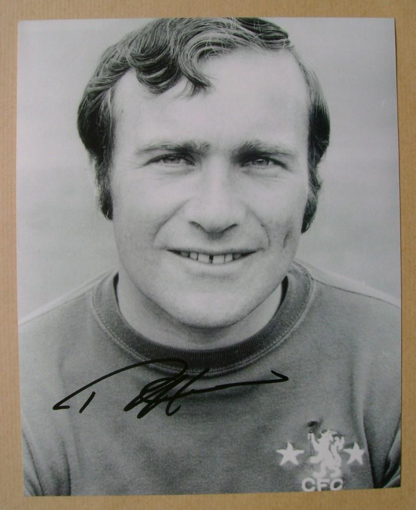 Ron Harris autograph
