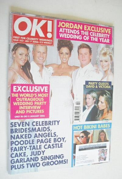 <!--2006-01-17-->OK! magazine - Gary Cockerill and Phillip Turner wedding c